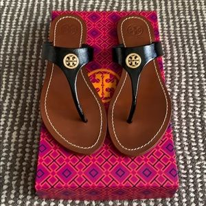 🆕 Authentic Tory Burch Cameron Thong Sandal